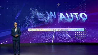 Herbert Diess presenterar Volkswagen-koncernens nya strategi NEW AUTO.