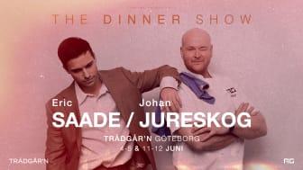 "Lifeline presenterar i samarbete med AG och Trädgår´n ""Eric Saade x Johan Jureskog – The Dinner Show"""