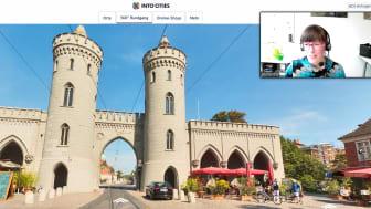 Beim digitalen Stadtspaziergang durch Potsdams Innenstadt schlendern