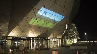 Der er film på facaden af Kulturværftet fra 10.-16. februar.