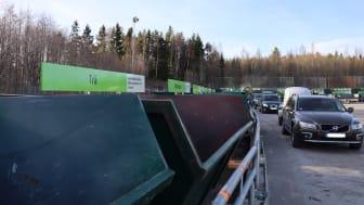 Utökade öppettider på återvinningscentralen i Hamrånge