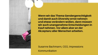 Lasst die Frauen sprechen - eine Kampagne von GenCEO zum Weltfrauentag 2019.