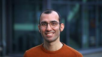 Amin Kazemzadeh är en av forskarna bakom Repono. Foto: Peter Ardell.