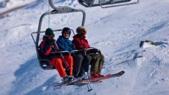Mest snö i landet - Riksgränsen bjuder på sol och mest snö under påsken