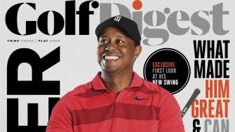 Tiger Woods på forsiden af Golf Digest.