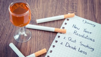 EXPERT COMMENT: Always forget to keep your New Year's resolutions? Smoking and drinking could be why