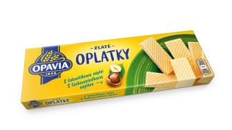 Opavia Zlate Oplatky orisek sideL