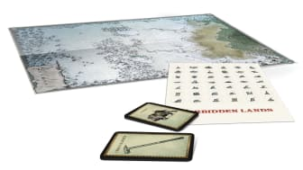 The Bitter Reach Map & Cards Pack