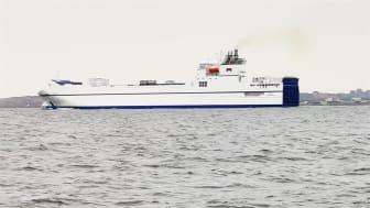 Transportstyrelsen och HaV, Havs- och vattenmyndigheten, föreslår i ett gemensamt regeringsuppdrag striktare utsläppskrav för skrubbervatten från fartyg. Foto: Martin Hassellöv
