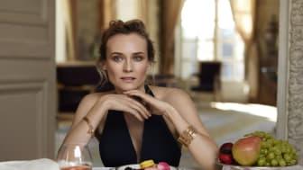 Martell Cognac feirer 300 års jubileum og annonserer at Diane Kruger blir merkets ambassadør
