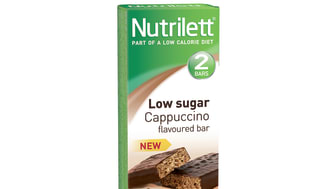 2 pack Low sugar bar with Cappuccino