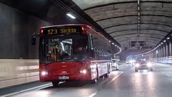 Östlig förbindelse är ett av de större vägtunnelprojekten i Sverige. Bild: Trafikverket