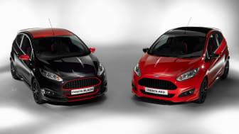 Fiesta Red és Black Edition