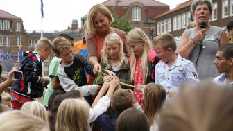 Tågaborgsskolan i Helsingborg invigd av minister