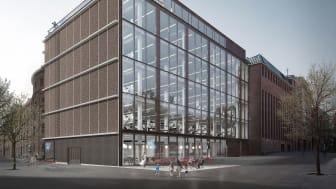 Dipylon Hus i Carlsberg Byen bliver fremover rammen om Arkitemas 150 medarbejdere i København.