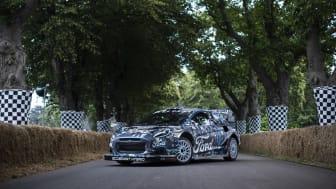 Az új, hibrid hajtású Ford Puma Rally1 versenyautó 2022-től rajthoz áll a FIA Rally Világbajnokságon