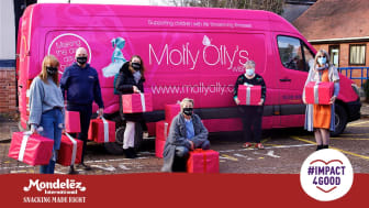 Molly Olly's Wishes were one of the seven charities to receive a grant
