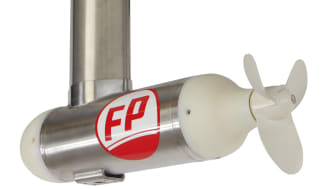 The new Fischer Panda 1,7 kW electric pod motor