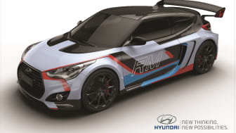 Hyundai Veloster med midtstilt motor