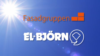 Fasadgruppen och El-Björn i samverkan för hållbar uppvärmning vid fasadarbeten