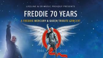 Queen-hyllning på Sverigeturné – Med Johan Boding och Night of Queen Band
