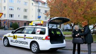Taxi Göteborg fortsatt ensamma om  att syncertifiera samtliga förare