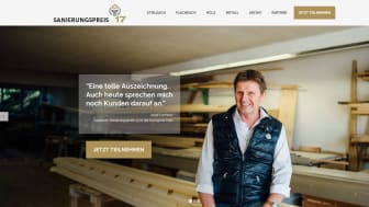 """Josef Lechner, Gewinner Sanierungspreis 13 in der Kategorie """"Holz"""". Foto: Rudolf Müller Mediengruppe"""