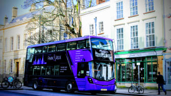 An Oxford Bus Company's Park&Ride 400 bus