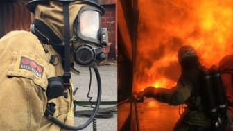 Securitas återupptar utbildningarna av brandmän på uppdrag av MSB.