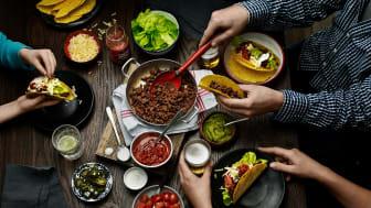 """Santa Maria och foodora stöttar restaurangbranschen med unika konceptet """"Tacotarian"""""""