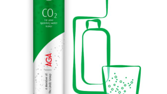 AGA lanserer klimapositiv karbondioksid for kullsyremaskiner