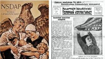 Forum för levande historias nya antologi lyfter fram propagandans betydelse i både Nazityskland och Sovjetunionen.