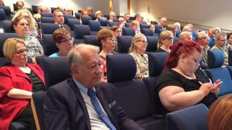 Sydänliiton kunniapuheenjohtaja Pelka Puska osallistui Sydänliiton kevätkokoukseen Helsingissä 25.5.