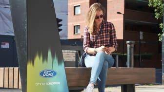 Fords Smarte Bænke i London