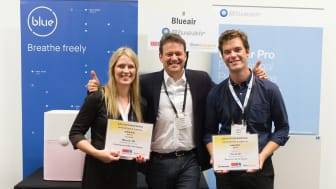 Blueair Indoor Air Cleaners Win Two Top Innovation & Design Awards At Europe's IFA Berlin Tech Show