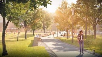 Pressinbjudan - Cykelinvigning av vår nya gröna stadsdel