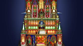 Julens utställning visar julkrubbor från Krakow - en hantverkstradition med anor från medeltiden.
