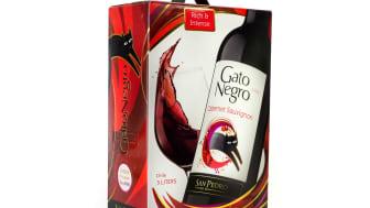Viña San Pedro uppmärksammar Gato Negros historia med ny spännande design