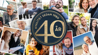 SkandiaMäklarna 40 år