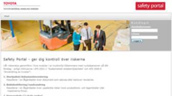 Toyotas riskanalys - nu med webbaserat IT-stöd