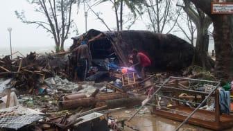 60 000 barn i akut behov av hjälp efter cyklonen i Vanuatu