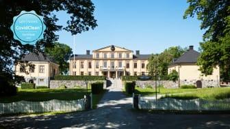 Krusenberg Herrgård och FågelbroHus CovidClean certifieras av SafeHotels!