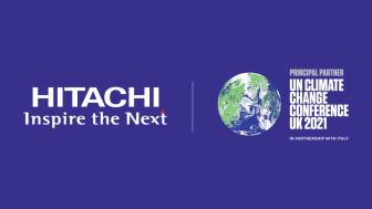 Hitachi Becomes COP26 Principal Partner