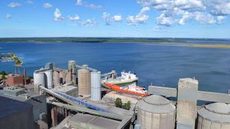 Slite Cement plant. Bild: Cementa