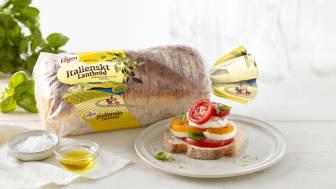 Pågen presenterar Italienskt Lantbröd