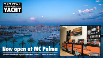 See the latest Digital Yacht products in Palma at their new showroom