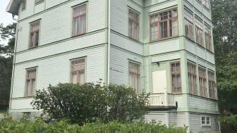 Birka trädgårdsstad hotas av rivning och finns med på Gula listan.