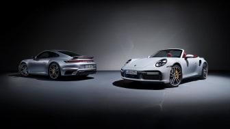 Den nye Porsche 911 Turbo S og Turbo S Cabriolet