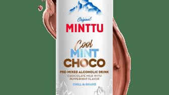 Nu lanseras färdigblandad Minttu med chokladdryck