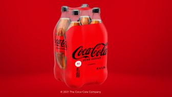 Coca-Cola i Sverige fortsätter arbetet mot netto noll – övergår till 100 procent återvunnen plastfilm